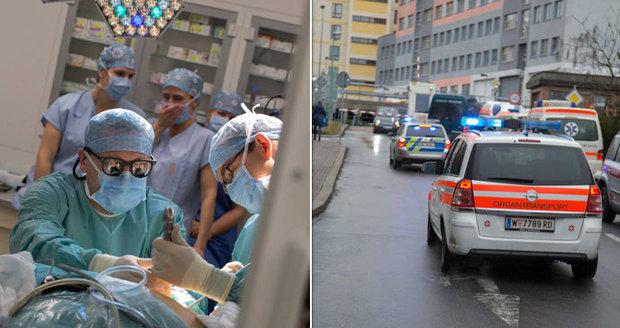 Unikátní transplantace ledviny: Orgány cestovaly mezi Vídní a Prahou s policejním doprovodem