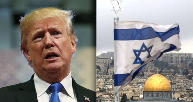 Trump označil Jeruzalém za hlavní město Izraele. Hamás: Otevřely se brány pekla