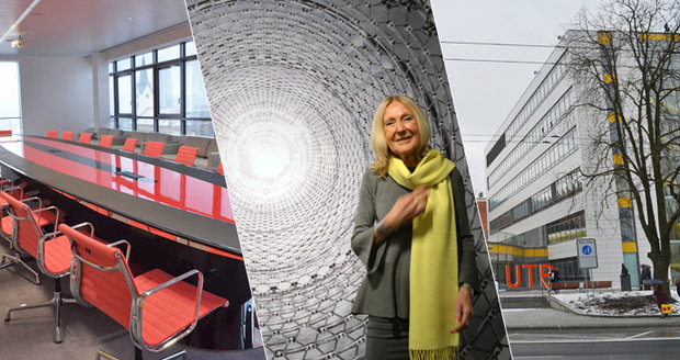 Světoznámá architektka Eva Jiřičná (78) nadělovala ve Zlíně studentům po svém: Dárek za půl miliardy!