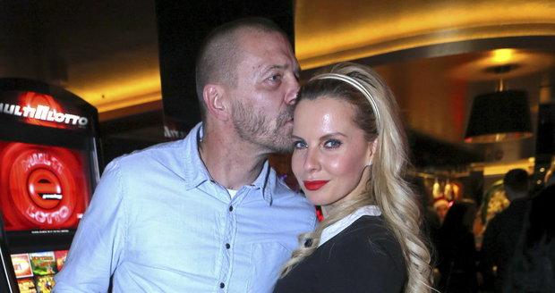 Tomáš Řepka s Kateřinou Kristelovou