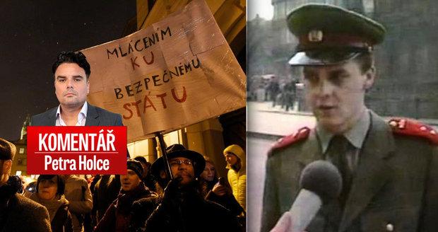 "Komentář: Volba ""mlátičky"" Ondráčka vyhnala lidi do ulic. Horáček slavil"