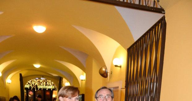 Pavel Zedníček s manželkou Hanou Kousalovou.