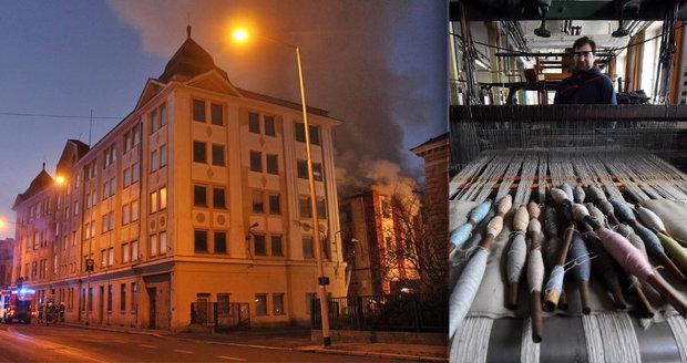 Šok při vyšetřování požáru kulturní památky: Textilku Karnola v Krnově zapálily dvě děti!