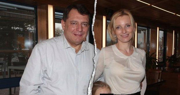 Manželé Paroubkovi se soudí kvůli dceři Margaritě.