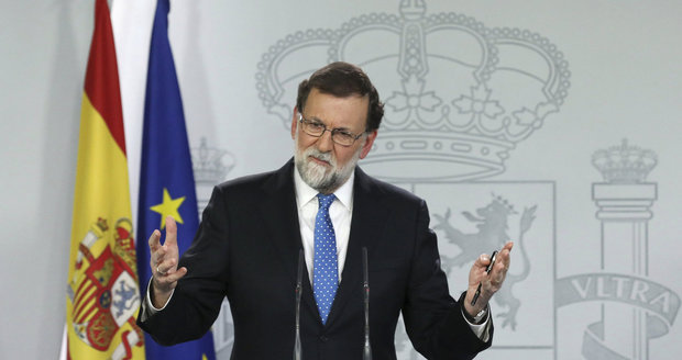 Španělský premiér Rajoy je ochotný s Katalánci jednat. Jenže má podmínku