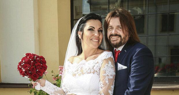 Svatba Bohouše Josefa a Aleny Wicerzykové
