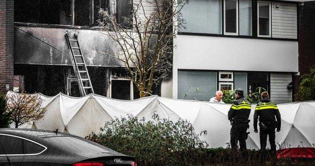 Děti (†5 a †6) z Česka zemřely při požáru v Nizozemsku. Vzplál nejspíš vánoční stromek