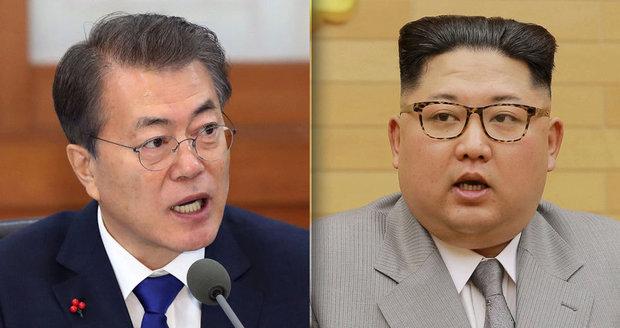 Horká linka mezi Korejemi už funguje. Kim couvá, souhlasí s denuklearizací i vojáky USA