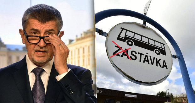Čeká nás obří stávka autobusáků? Babiš chce zrušit navýšení jejich mezd