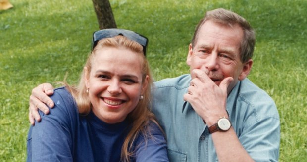 Dagmar s prezidentem na Hrádečku