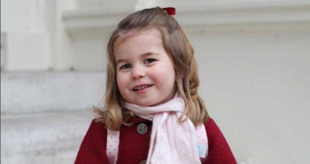 Nejnovější fotka princezny Charlotte, leden 2018