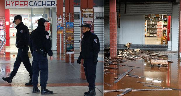 Hákové kříže, vypálený obchod: Francie řeší další útoky proti židům