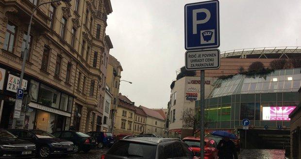 V centru Brna od září zaparkují jen rezidenti a lidé, kteří tam mají firmu či nemovitost.