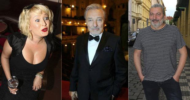 Slavní jdou volit prezidenta! Kdo je favoritem Gotta, Bittnerové nebo Hůlky?