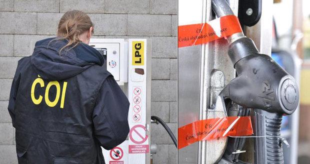 Pokuty až 500 tisíc, mizerný benzin a nafta: Tady jsou hříšné čerpací stanice