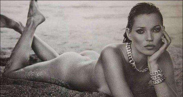 Topmodelka Kate Moss
