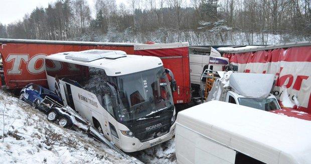 Sněhová kalamita v Česku: 12 rad pro řidiče, jak neuvíznout v bílé pasti