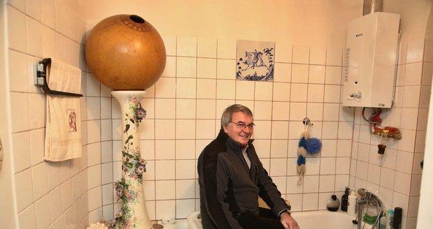 Koupelna Vlastimila Harapese