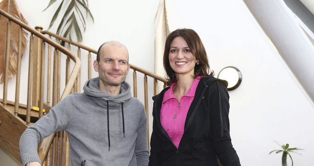 Sourozenci Adéla a Dalibor Gondíkovi
