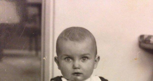 Dalibor Gondík jako dítě