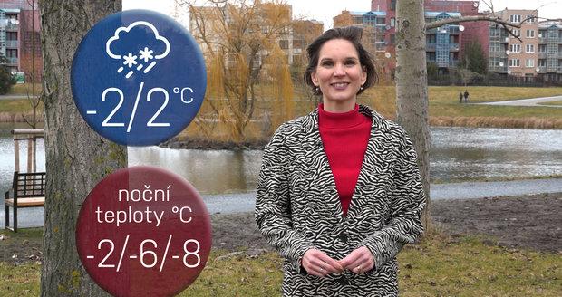 Počasí s Honsovou: Připravte si lyže, celý víkend prosněží