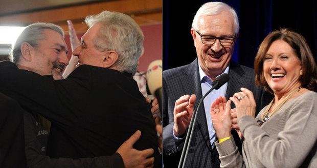 Drahoše volí hvězda Ordinace i Rottrová, Zeman má své věrné. Komu fandí známé tváře?