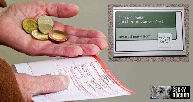 Senioři si nechávají přepočítat důchod. Může jim narůst o stovky korun