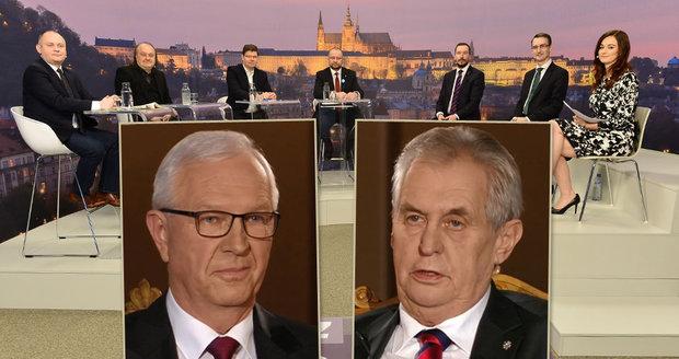 "Šťavnatá hádka o Zemana a Drahoše. Jakl, Hašek a Pospíšil si ""vjeli do vlasů"""