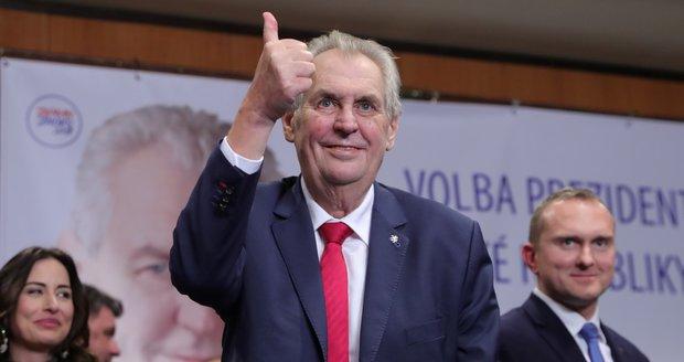 Zvolení Zemana prezidentem je definitivní. Soud zamítl všechny stížnosti na volby