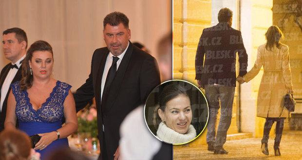 Ženatý poradce prezidenta Zemana: Nejedlý si hýčká novou krásku