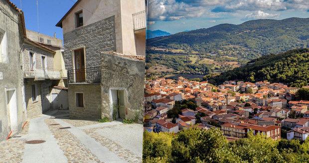 Italské město Ollolai nabízí domy za 25 korun!