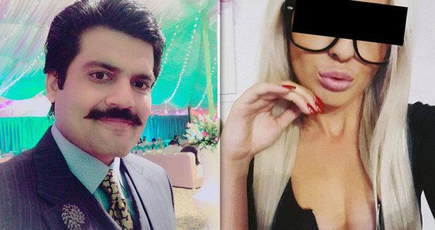 """Tereza vyrazila """"nejlepšího právníka v Láhauru"""": Zafar balamutil média, opěvoval Terezinu krásu"""