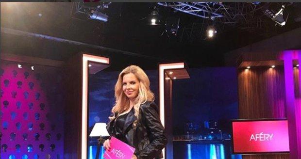 Kateřina Kristelová se vrátila do pořadu Aféry.