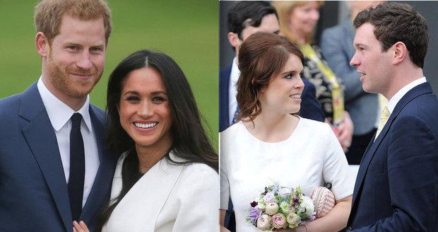 84babf95a75 Museli ustoupit Harrymu a Meghan! Termín svatby princezny Eugenie odtajněn