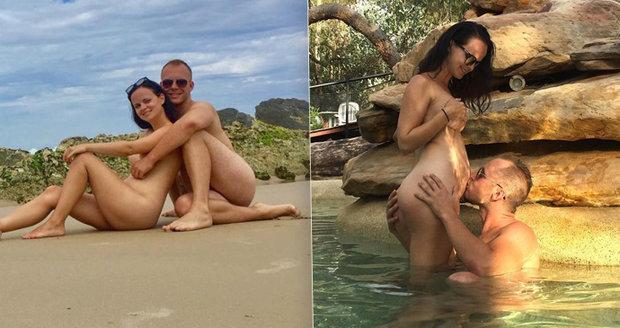 Čeští nudisté Linda a Filip se svlékají pro 50 tisíc lidí.