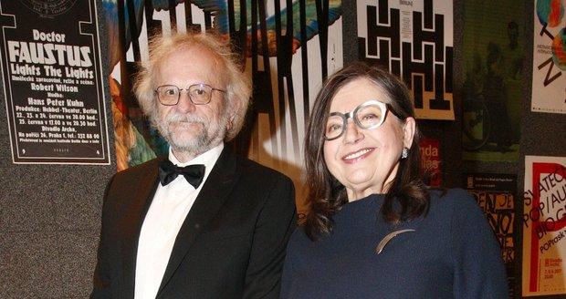 Zuzana Kronerová a manžel Milan Hladký