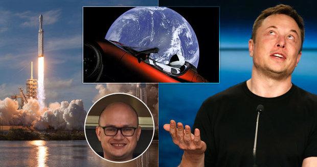 Čech ve službách dobyvatele vesmíru: Je úplně normální, říká Pavlík o Muskovi