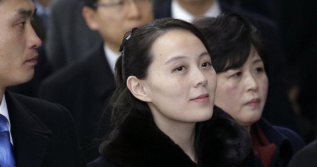 To je sestra diktátora Kim Čong-una: Přiletěla do Jižní Koreje kvůli olympijským hrám