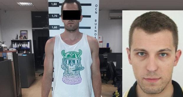 Dopadení nejhledanějšího zločince z Česka: V Argentině ho odhalil počítačový program