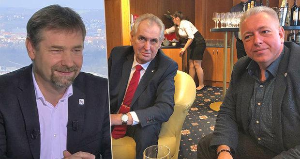 """Okamurovec u Moravce: """"Co je vlastně pravda?"""" Chovanec se bránil za Zemanův štáb"""