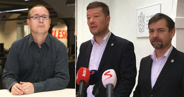 """""""Okamurovi jsou muslimové ukradení."""" Koten z SPD bouřil proti islámu, arabista žasne"""