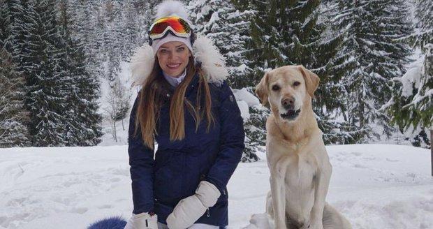 Andrea Verešová je na horách jako doma.
