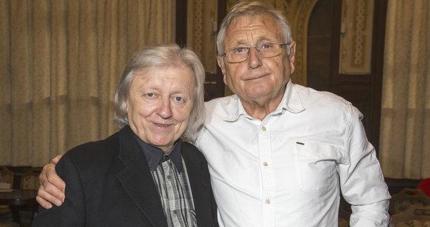 Václav Neckář a Jiří Menzel