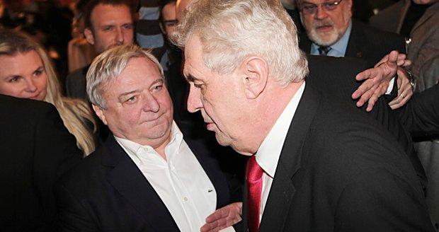 Lobbista Šlouf podlehl rakovině. Pomohl Zemanovi na Hrad, ten na pohřeb nepůjde