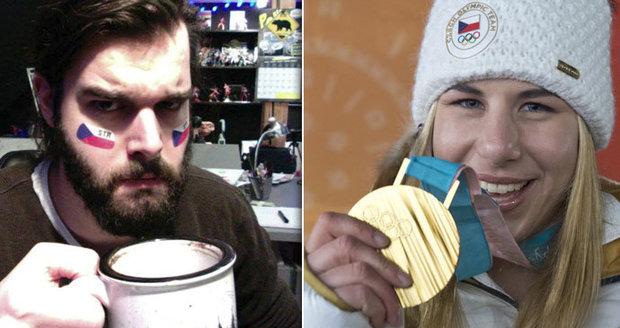 Ester Ledecká vyhrála zlato: Hodně drsná reakce jejího bratra šokovala víc než její vítězství