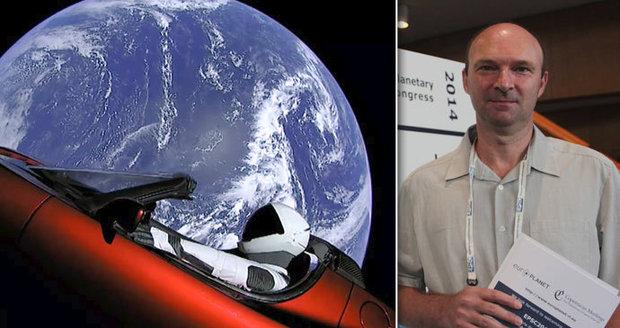 Raketa miliardáře Muska může nabourat do Země: Spočítal to také český profesor