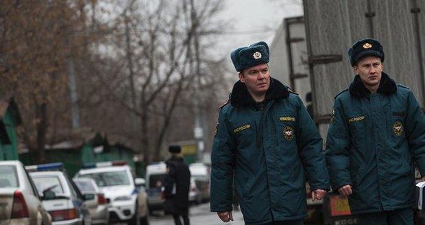 Cizinec v Moskvě zastřelil policistu: Odpověděli mu smrtící palbou