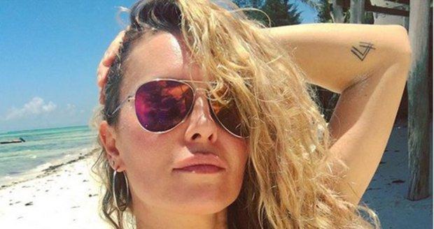 Simona Krainová na Zanzibaru oslavila 44. narozeniny