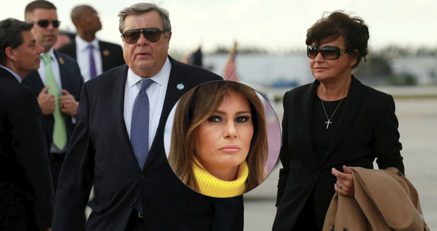 """Melanie si dovezla do USA i rodiče. """"Zlo,"""" tepe Trump imigranty za podobné praktiky"""