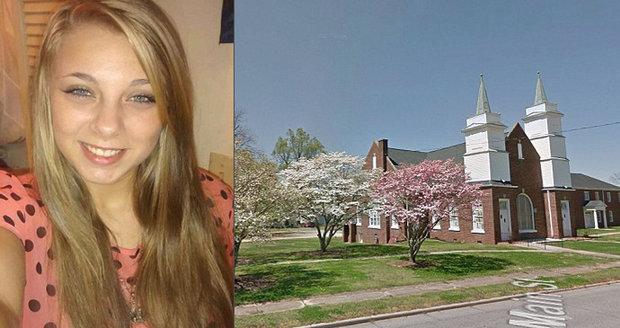 Krásná blondýna si vydloubla oči před kostelem. Hlasy jí šeptaly, že to musí udělat, aby šla do nebe
